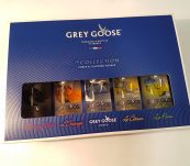 Grey Goose collection 5 x 0,05l 40%