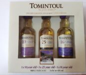 Tomintoul Collection 3 x 0,05l 40%